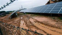 Razie kvůli soláru v Ševětíně. Policie se zajímá o manažery firem včetně ČEZ