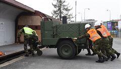 Z Česka vyrážejí do Maďarska čeští vojáci, pomohou chránit hranice