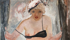 Obraz nahé ženy od ruského autora se vydražil za rekordních 82 milionů