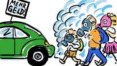 Škodlivost automobilových emisí se testovala i na lidech. Německá vláda to odsuzuje