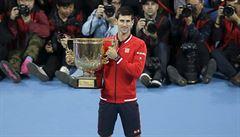 Djokovič ovládl turnaj v Pekingu, Nadalovi povolil jen čtyři gemy