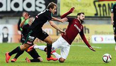 Sparta čtyřmi góly zničila Příbram a vrátila se do čela ligy