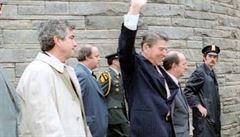 Zemřel americký agent Parr. Zachránil Reagana při atentátu