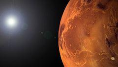 Na Marsu mohou být zkamenělé pozůstatky života, domnívají se vědci