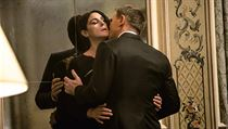 Bond lady Monica Belluci a Daniel Craig.