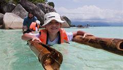 Panama či Srí Lanka. Je vhodné brát děti na exotickou dovolenou?