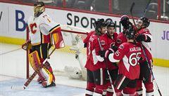 Hudler přihrál na dva góly, vítězství přesto znovu slaví Ottawa