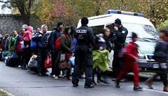 Do Německa přišel oficiálně už miliontý letošní uprchlík
