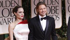 Angelina Jolie: S Bradem máme problémy, manželská krize to ale není