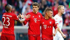 Bayern si došel pro jubilejní 1000. vítězství, čtyřmi góly rozstřílel Kolín