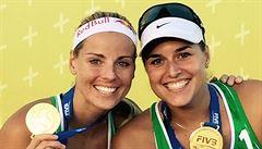 Premiérový titul. Sluková s Hermannovou vyhrály turnaj v Antalyi