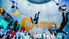 Indoor skydiving má své první mistry. V Praze se utkali nejlepší letci světa