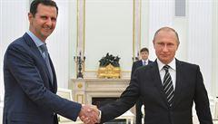 Putin si v Moskvě děkoval s Asadem: Rusko zabránilo tragédii
