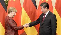 Koronavirová pandemie posiluje význam Číny pro německou ekonomiku