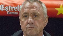 Bojovník. V poločase vedu nad rakovinou 2:0, věří fotbalová legenda Cruyff