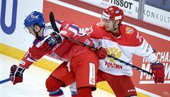 Čeští hokejisté prohráli s veterány Ruska. Za ně se trefili Fjodorov i Bure