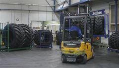 Vznikla světová jednička zemědělských pneumatik. Díky akvizici české firmy