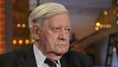 Zemřel bývalý německý kancléř Helmut Schmidt. Bylo mu 96 let