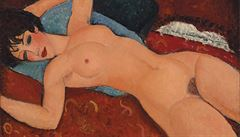 Modiglianiho akt se v New Yorku vydražil za miliardy
