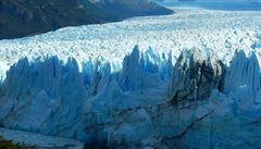 Patagonie láká turisty na zatím neubývající ledovec Perito Moreno