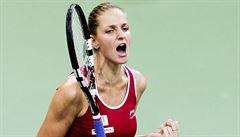 Plíšková kralovala tenistkám v počtu es, nejtvrdší podání má Lisická