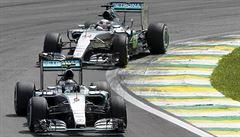 Rosberg vyhrál GP Brazílie a už je jistým vicemistrem světa formule 1