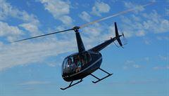 Na Litoměřicku havaroval vrtulník. Pilot zemřel