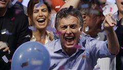 Argentinské prezidentské volby vyhrál konzervativec Mauricio Macri