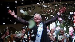 V Izraeli proběhl třetí ročník miss holokaust. Soutěžilo 16 přeživších žen
