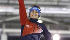 Skvělá Sáblíková. Poprvé v kariéře vyhrála ve SP závod na 1500 metrů