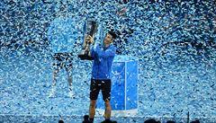 Djokovič jako první hráč historie vyhrál Turnaj mistrů počtvrté za sebou
