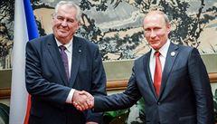 Prezident Zeman odletěl na státní návštěvu Ruska. V Soči se setká s Putinem