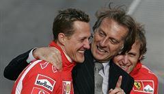 Vidět Schumachera v současném stavu je hrozné, říká bývalý prezident Ferrari
