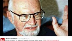 Zemřel nejznámější proruský Izraelec. Byl usvědčený ze špionáže pro SSSR