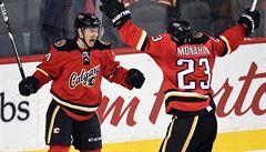 Hudler vyrovnal před koncem a zachránil Calgary, Voráček dvakrát asistoval