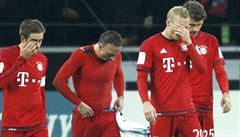 Bayern třikrát inkasoval a poprvé v sezoně prohrál, Darida se trefil za Herthu