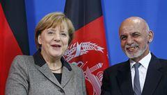 Merkelová: Zachráníme afghánské uprchlíky, kterým hrozí kvůli Západu smrt