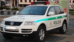 Zločinec na Slovensku unesl dva policisty, byl zastřelen