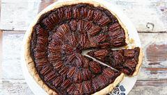 Chuť a vůně Vánoc. Americký ořechový koláč z pekanových ořechů