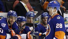 Židlický zařídil výhru Islanders dvěma góly a byl vyhlášen hvězdou zápasu
