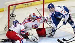 V O2 aréně opět bez vstřelené branky. Hokejisté podlehli Finsku 0:3
