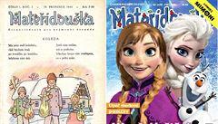 Nejstarším dětským časopisem je Mateřídouška, vychází už 70 let
