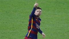 Messi se hned na úvod roku předvedl. Parádním přímákem rozhodl derby