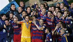 Další trofej pro Barcelonu. I s pomocí uzdraveného Messiho vyhrála MS klubů