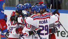 Cenný skalp na závěr. Češi porazili Rusko a slaví prvenství na turnaji