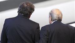 Trest za korupci: Blatter a Platini nesmějí osm let působit ve fotbale