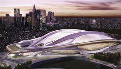 Tohle je stadion pro olympiádu v Tokiu: helmu od Zahy Hadid porazily palačinky