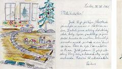 Unikátní dopisy: Havel píše babičce. Otec kárá Smoljaka a Suchý se pře s Formanem o frontu