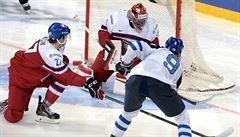 Češi v zápase plném zvratů podlehli Finům, ve čtvrtfinále narazí na USA