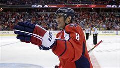 Washington vyhrál podeváté v řadě a vévodí NHL. Dva góly vstřelil Ovečkin